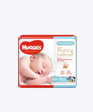 Huggies Natural Cotton Unisex Rn P18 Ll20