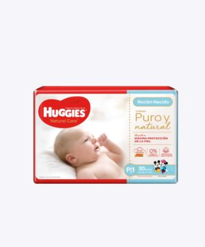 Huggies Natural Care Cotton Unisex P P24 Ll30