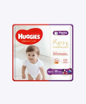 Huggies Natural Care Pants Unisex Xgx28