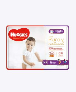 Huggies Natural Care Pants Unisex Gx32