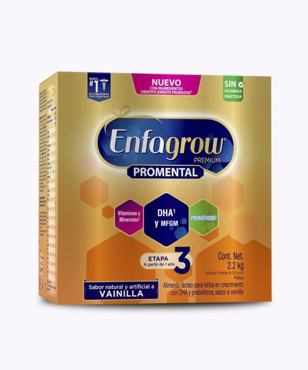 Enfagrow Promental 3 Vainilla Carton 2200gr Nuevo