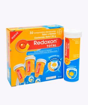 Pack Redoxon Total Efervescente Tubo X 3 Nuevo