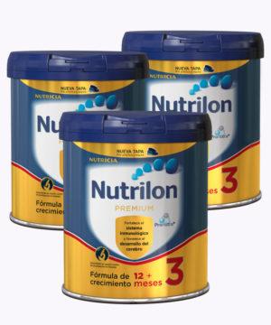 """Nutrilon Premium 3 800gr """"PACK X 3"""""""