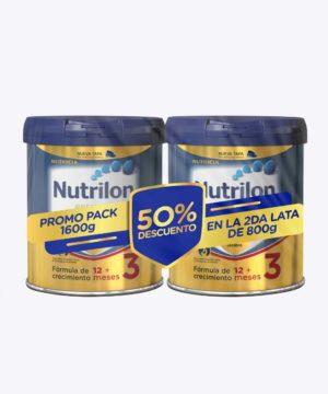 Pack Nutrilon Premium 3 800gr + 800gr