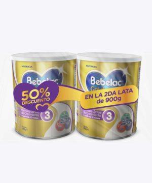 Pack Bebelac Gold 3 900gr + 900gr