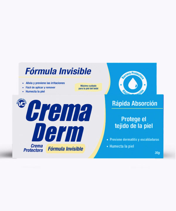 Crema Derm Antipañalitis Formula Invisible 30gr Nuevo