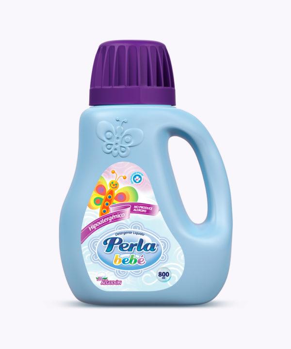 Perla Bebe Detergente Liq. Botella 800 ml