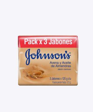Jj Jabon Baby Tripack Avena 110 gr