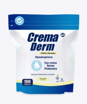 Pañitos Crema Derm Repuesto X 100