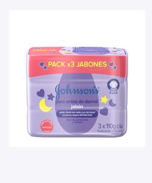 Jj Jabon Baby Tripack Antes De Dormir 110gr