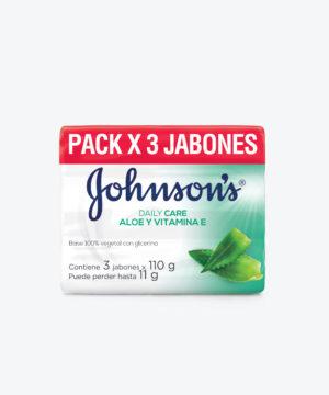 Jj Jabon Adulto Tripack Aloe 110gr X 16