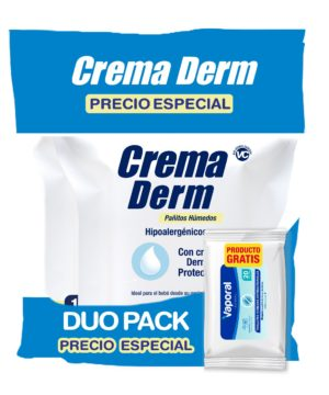 Onpack Pañitos Crema Derm Pack X 200 + Th Antibacterial