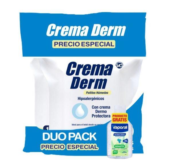Onpack Pañitos Crema Derm Pack X 200 + Gel Antibac 60ml
