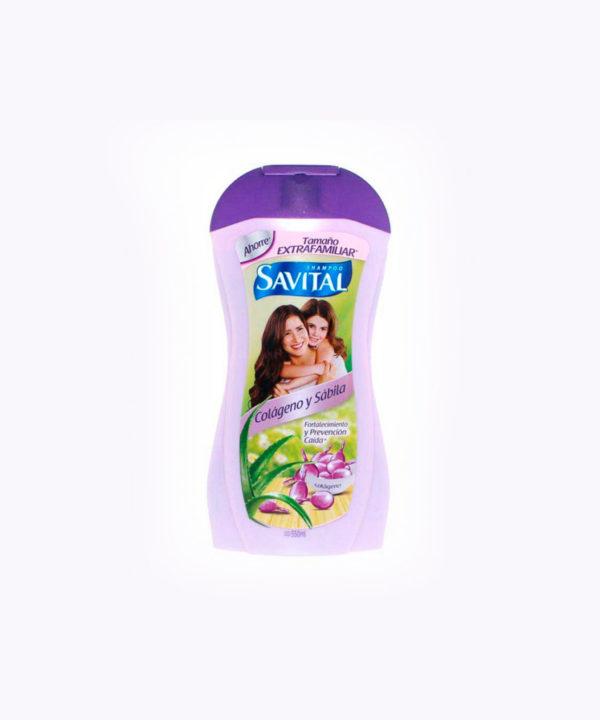 Savital Sh. Colageno 550 Ml  Nuevo