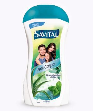 Savital Sh. Anticaspa 550 Ml  Nuevo