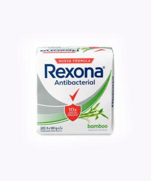 Rexona Jab. Tripack Antibact. Bamboo 120gr  Nuevo