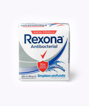 Rexona Jab. Tripack Antibact. Limpieza 120gr  Nuevo