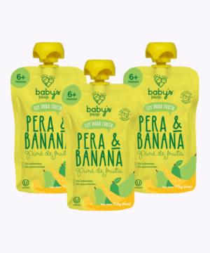 "Babys Paap Pure De Pera & Banana (0020) ""PACK X 3"""