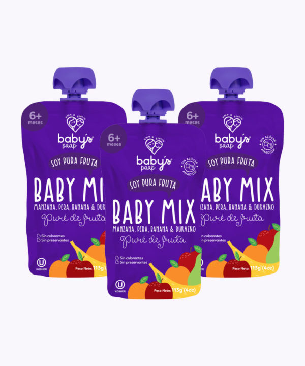 """Babys Paap Pure Baby Mix (0037) """"PACK X 3"""""""
