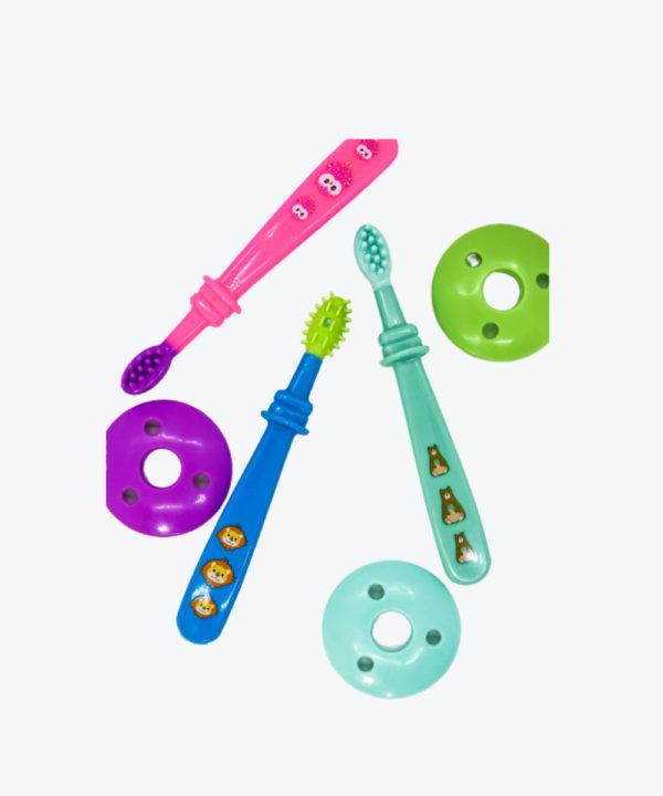 Babys Set Cepillo Dental Y Masajeador  (35602)