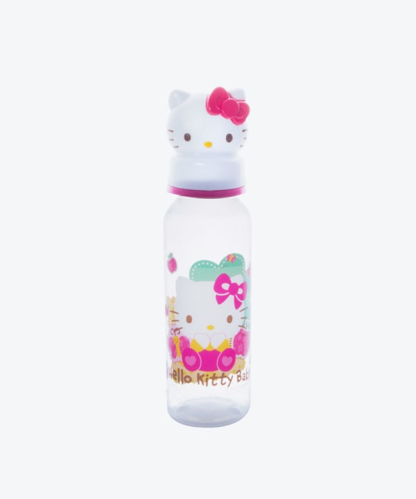 Babys Bib. Hello Kitty Redondo 8 Onzas (3001)