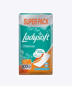 Ladysoft Protector Diario Clasico X 100