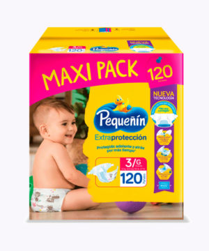 Pequeñin Maxi Pack Extraprotect  Et. 3 Gx120 Nuevo