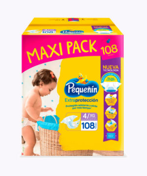 Pequeñin Maxi Pack Extraprotect  Et. 4 Xgx108 Nuevo