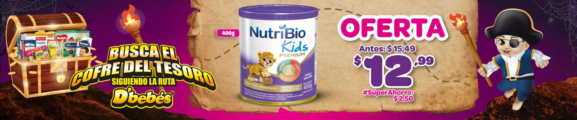 BANNER NUTRIBIO KIDS 400 GR