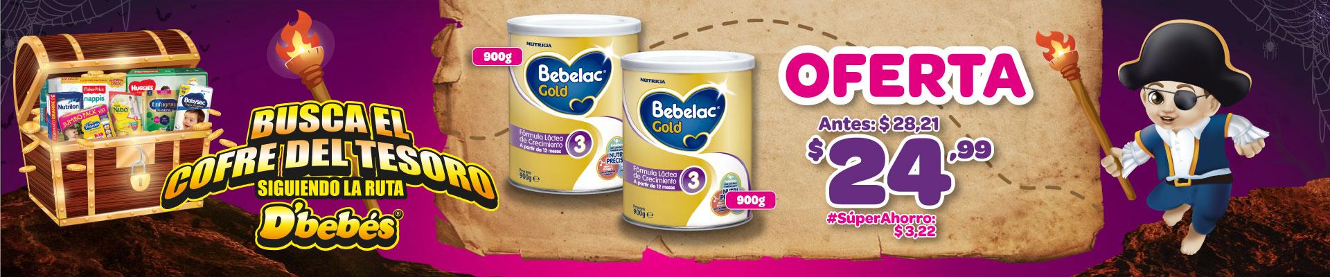 BANNER PACK BEBELAC GOLD 3 900GR 900GR 3