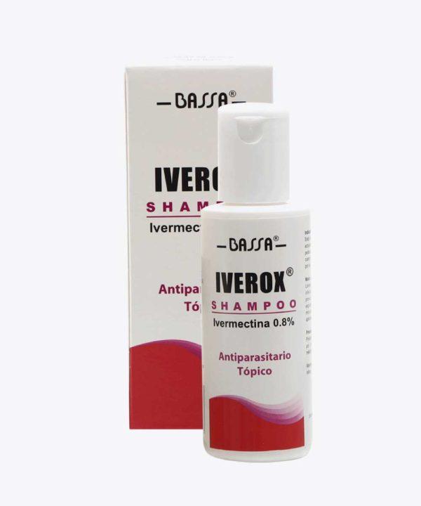 Iverox Shampoo 60ml Frasco