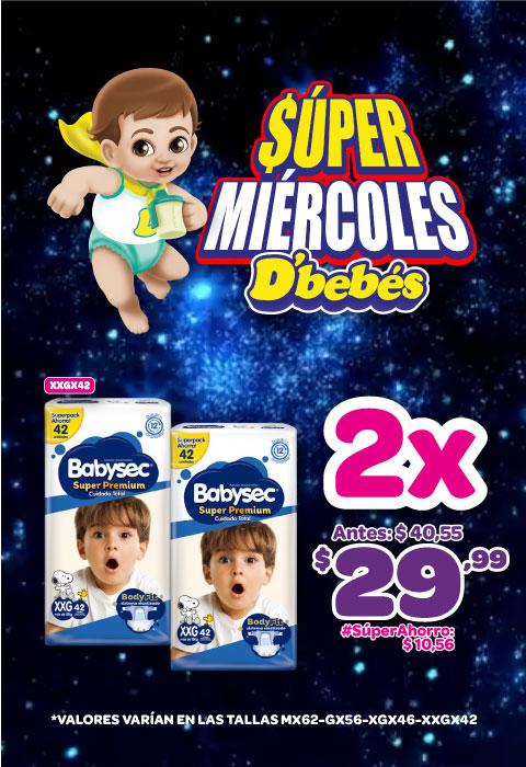 MOVIL BABYSEC SUPER PREMIUM MEGA PACK XXGX42 2